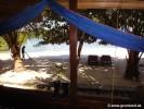 Blick aus unserer Hütte