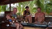Selina, Markus und ich beim Musizieren