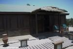Die Hütten beinhalten zwei aneinanderliegende Zimmer