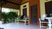 Der Eingang in unsere Hütte