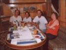 Unsere Gruppe: Hossi, Andi, Uwe, Sigrid.